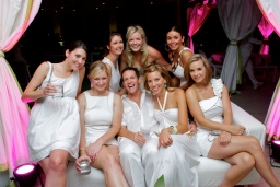 sabrina bean photography attends The White Party