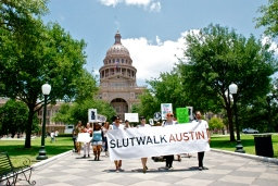 sabrina bean photography attends the SLUTWALK AUSTIN