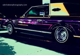 Impromptu car show at EXXON with sabrina bean photography
