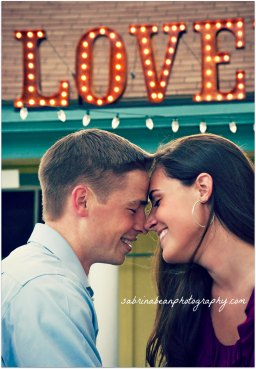 IN LOVE with LOVE… with sabrina bean photography