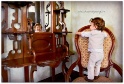 A sweet little boy in the Caswell House with sabrina bean photography