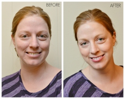sabrina bean photography before and after Arbonne